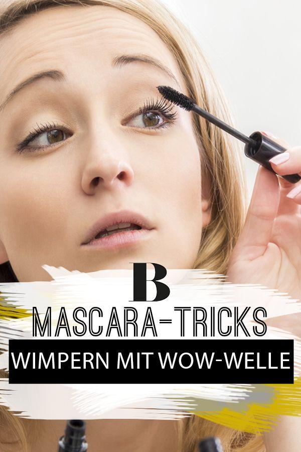 Mascara Wimpern Färben