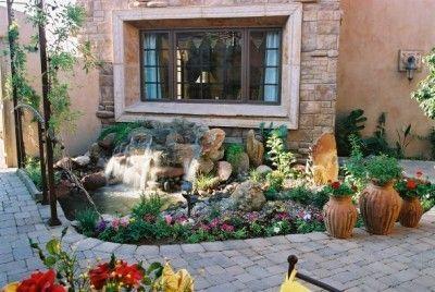 diseos de jardines para casas
