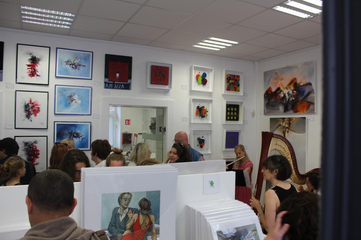Inauguration Galerie