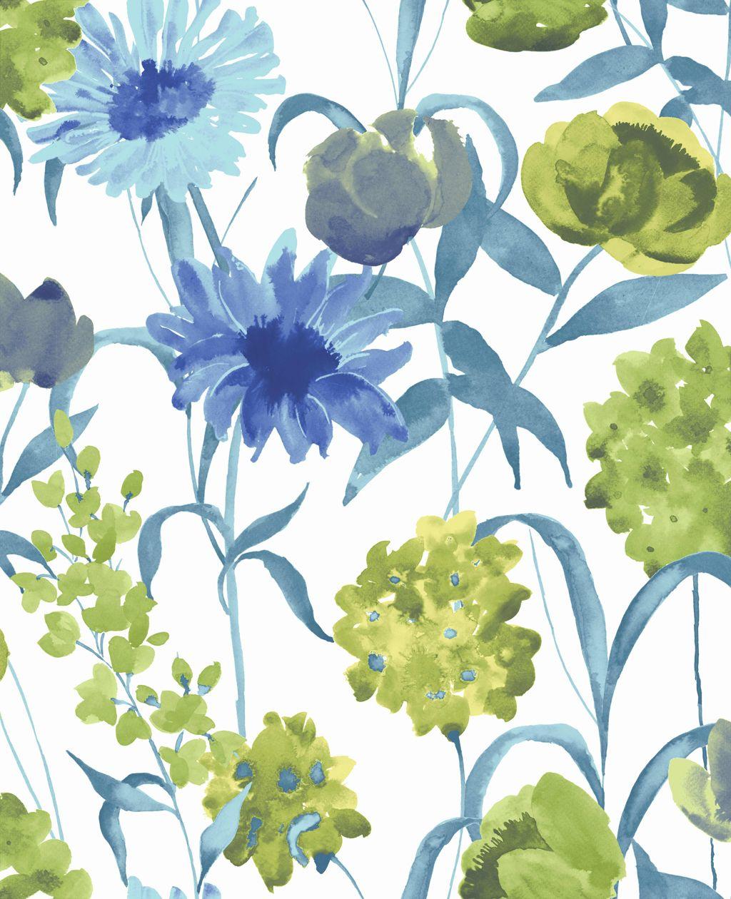 bold wallpaper patterns Our Summer Bloom floral