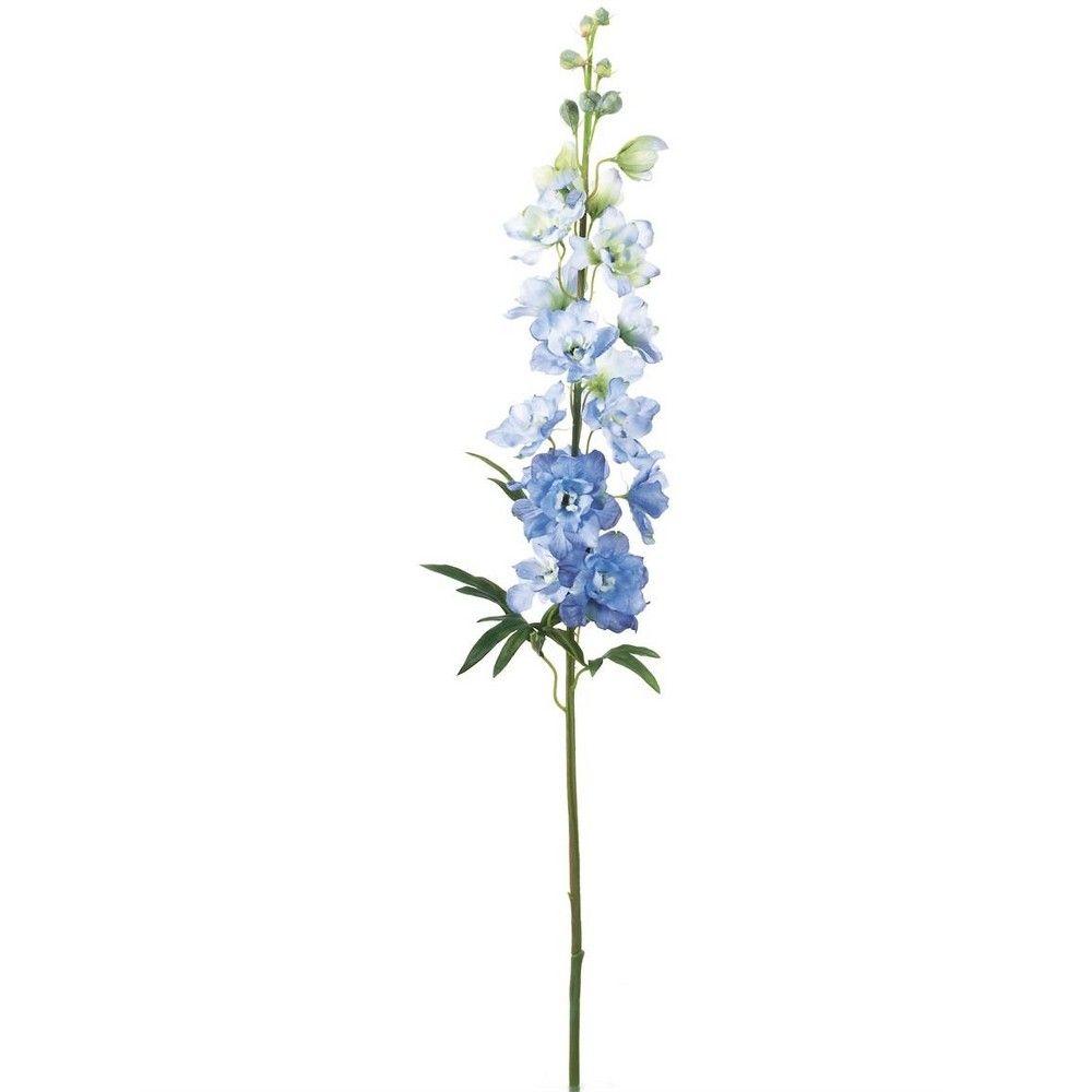 Sullivans Artificial Delphinium Stem 36 H Green Blue Flower Tattoos Delphinium Tattoo Larkspur Tattoo