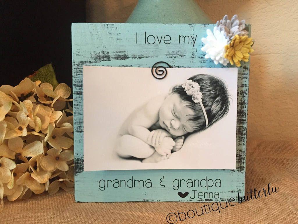 Christmas Gift For Grandma I Love My Grandma Picture Frame Grandma