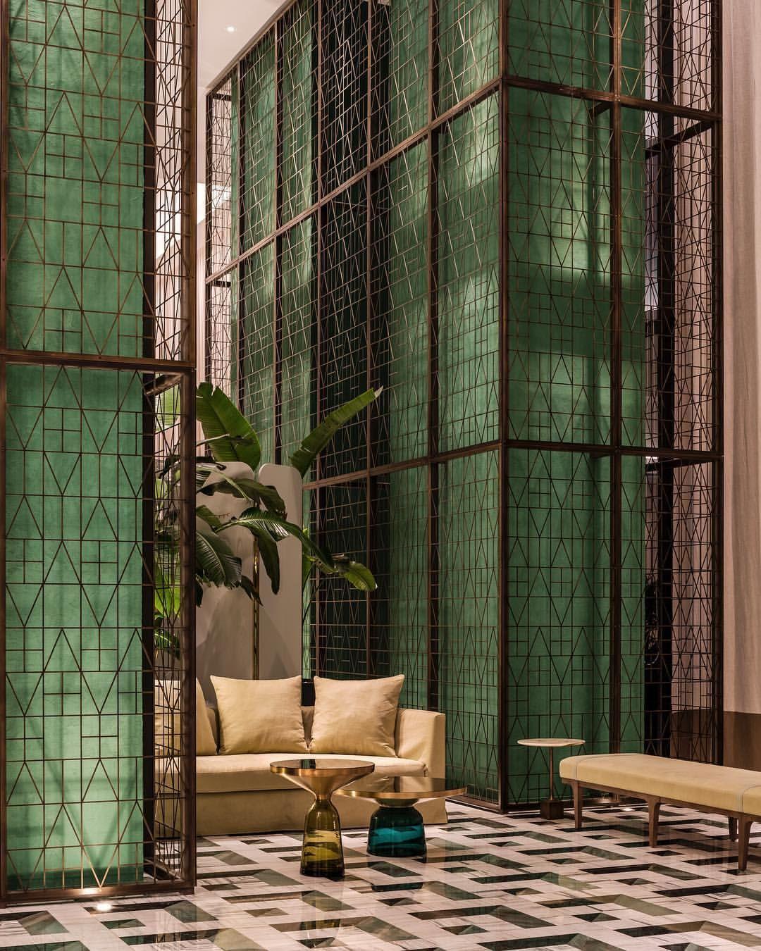 "KRIS TAMBURELLO on Instagram ""SLS LUX   Designed By YabuPushelberg   Miami   2019 @yabupushelberg @katsuyabrickell @slsluxbrickell • • • miami interiordesign…"" is part of Lobby interior design - 355 Likes, 9 Comments  KRIS TAMBURELLO (@kris tamburello) on Instagram ""SLS LUX   Designed By YabuPushelberg   Miami   2019 @yabupushelberg @katsuyabrickell…"""