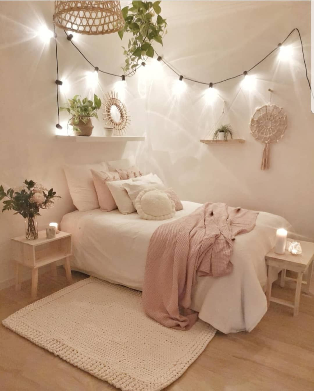 Credit Sandradeco Sweet Home Bedroomdecor Bedroom Inspire Me Home Decor Interiorstyl Decoration Chambre Cocooning Decoration Chambre Ado Idees Chambre