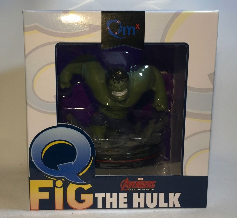 Marvel Comics The Hulk Avengers Q-Fig QmX Loot Crate Exclusive Age Of Ultron New