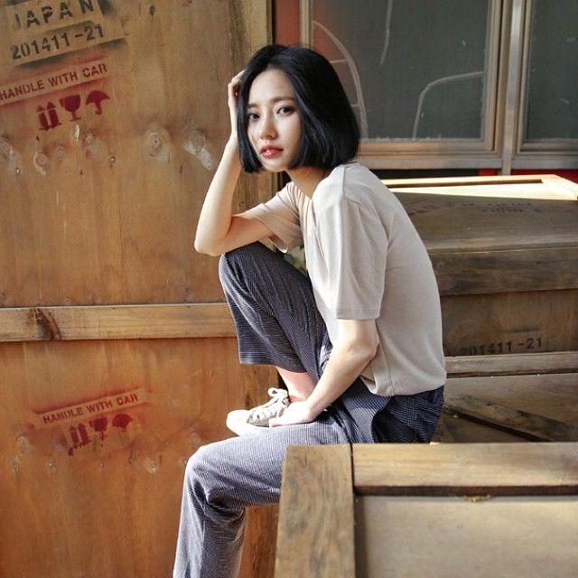 158 cm 42 kg model jihye styles in 2018 model womens fashion style. Black Bedroom Furniture Sets. Home Design Ideas