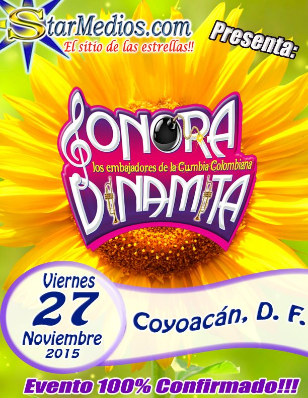 Sonora Dinamita Embajadores de la Cumbia Colombiana