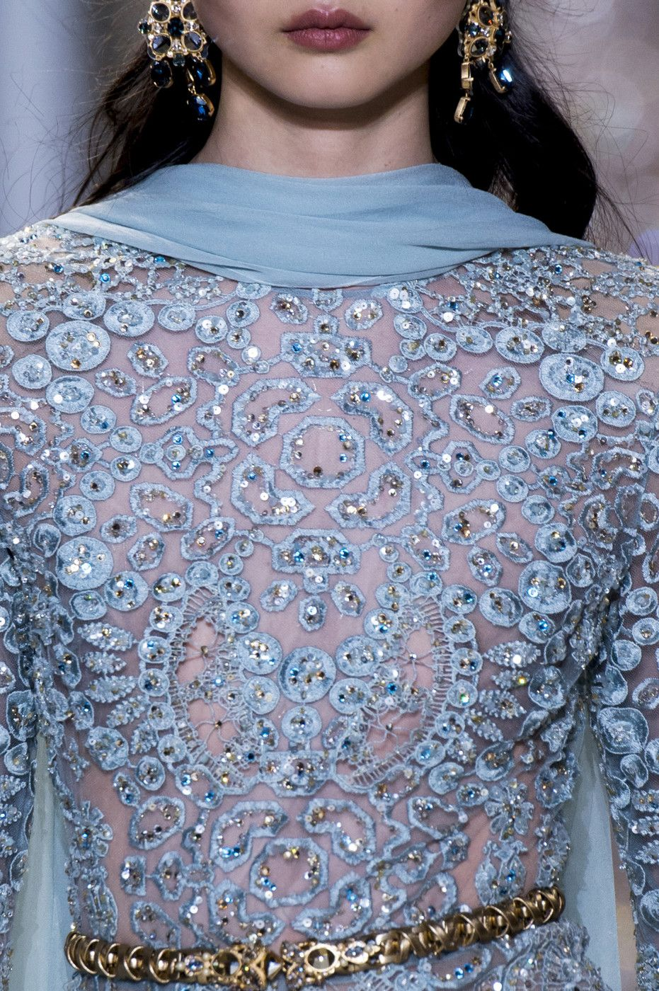 Elie Saab at Couture Spring 2017 - #Details Runway Photos