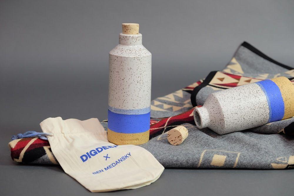 DIGDEEP X Ben Medansky: Vessel, A Gift That Gives Back | Dieline