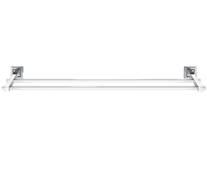 crs111 romano double towel rail double towel railsbathroom accessoriestowels