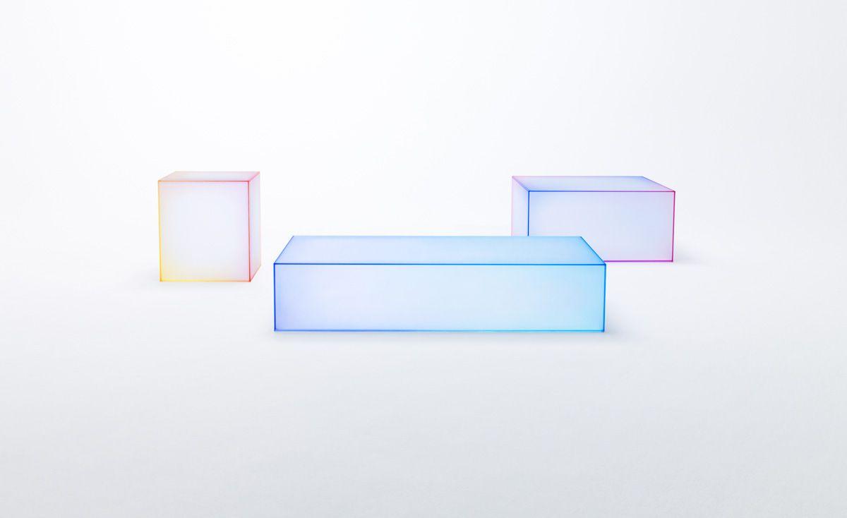 "Soft"" by Studio Nendo for Glas Italia. | .Tables Mix. | Pinterest | Glas"