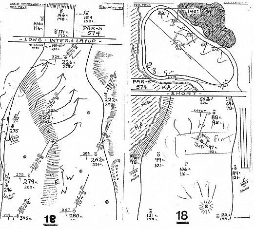 How To Make A Golf Yardage Book
