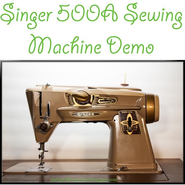 Singer 500A \