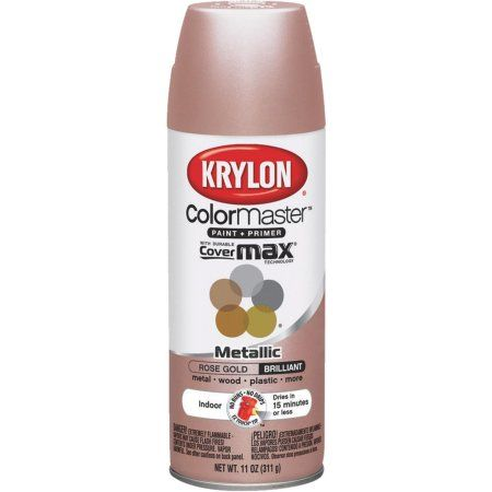 Buy Krylon Colormaster Metallic Spray Paint At Walmart Com