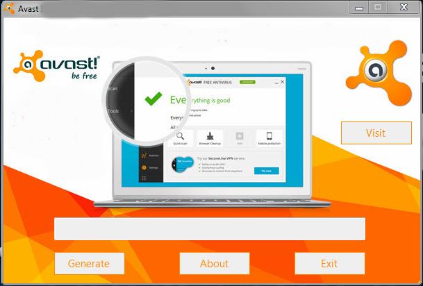 avast free antivirus key generator