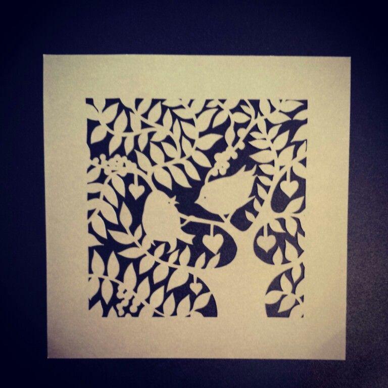 Bird in trees paper cut template from paper panda paper bird in trees paper cut template from paper panda maxwellsz