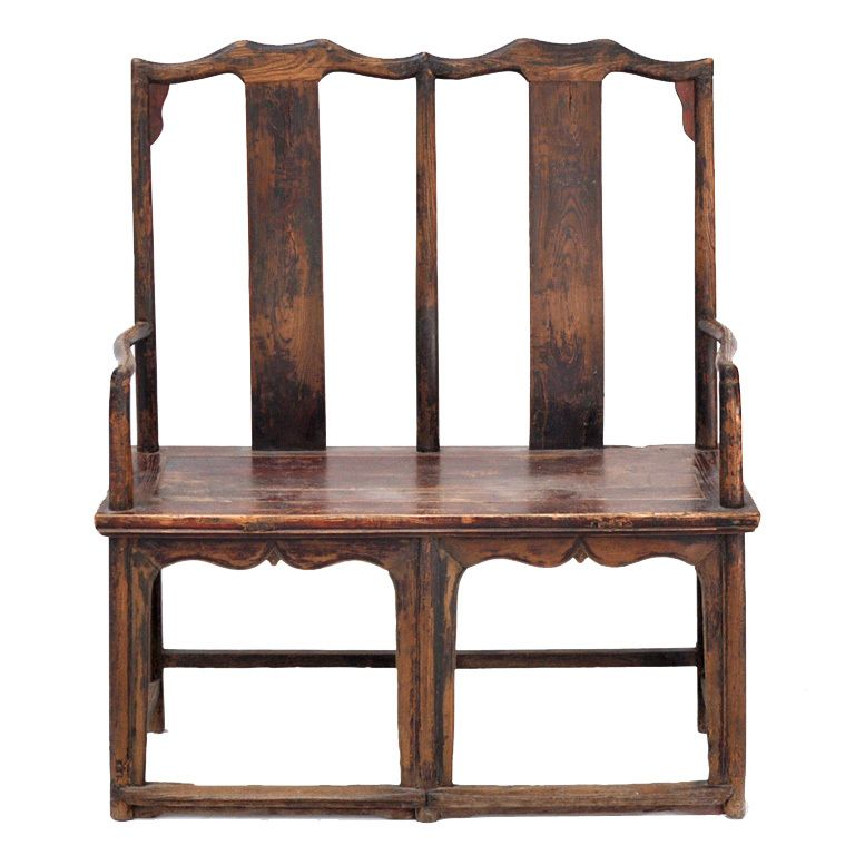Nice Chinese Double Yoke Back Chair   From A Unique Collection Of Antique And  Modern Benches At