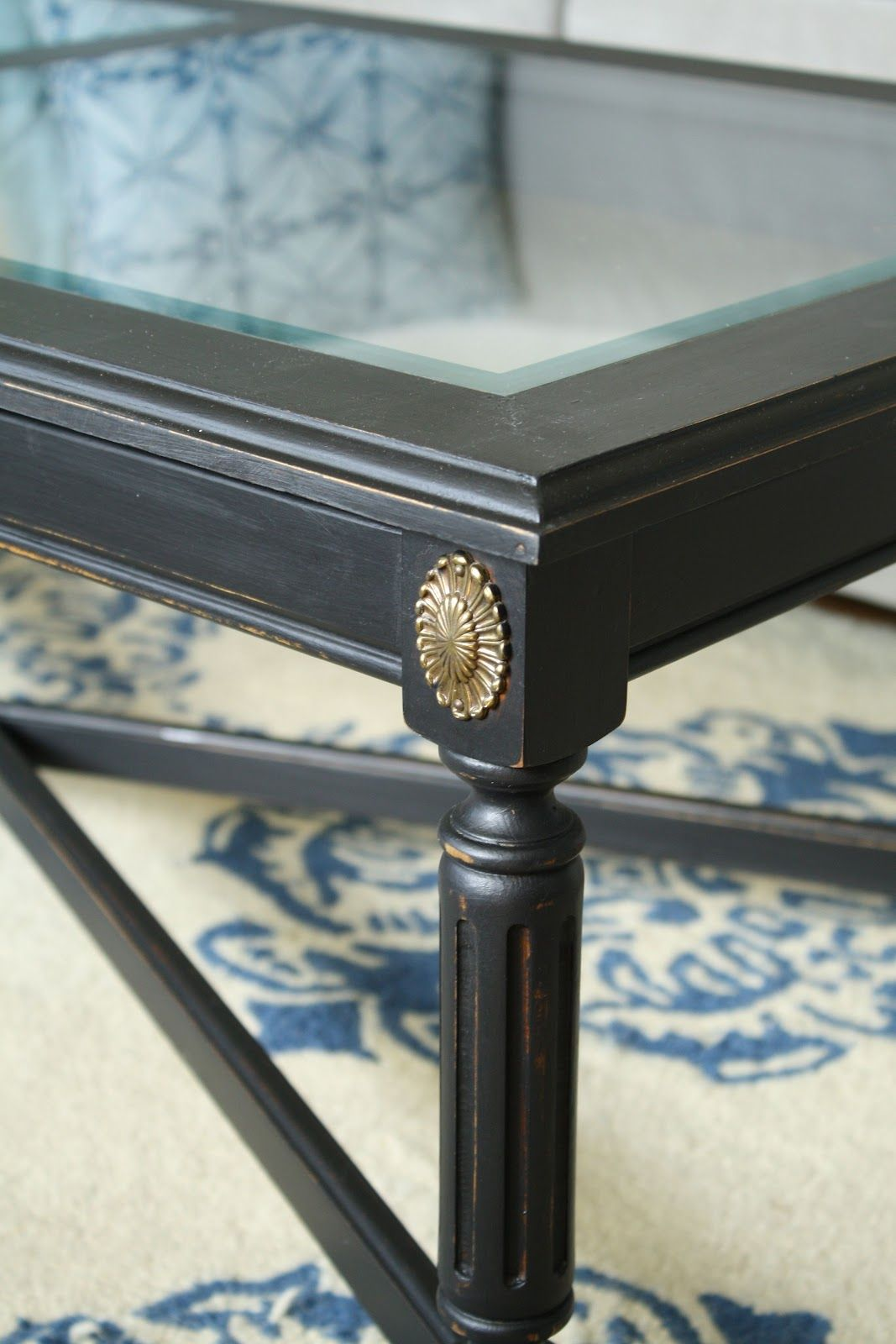 Chic black coffee table black coffee tables house