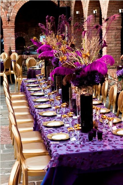 wedding decorations in purple follow us signaturebride on and on 9123