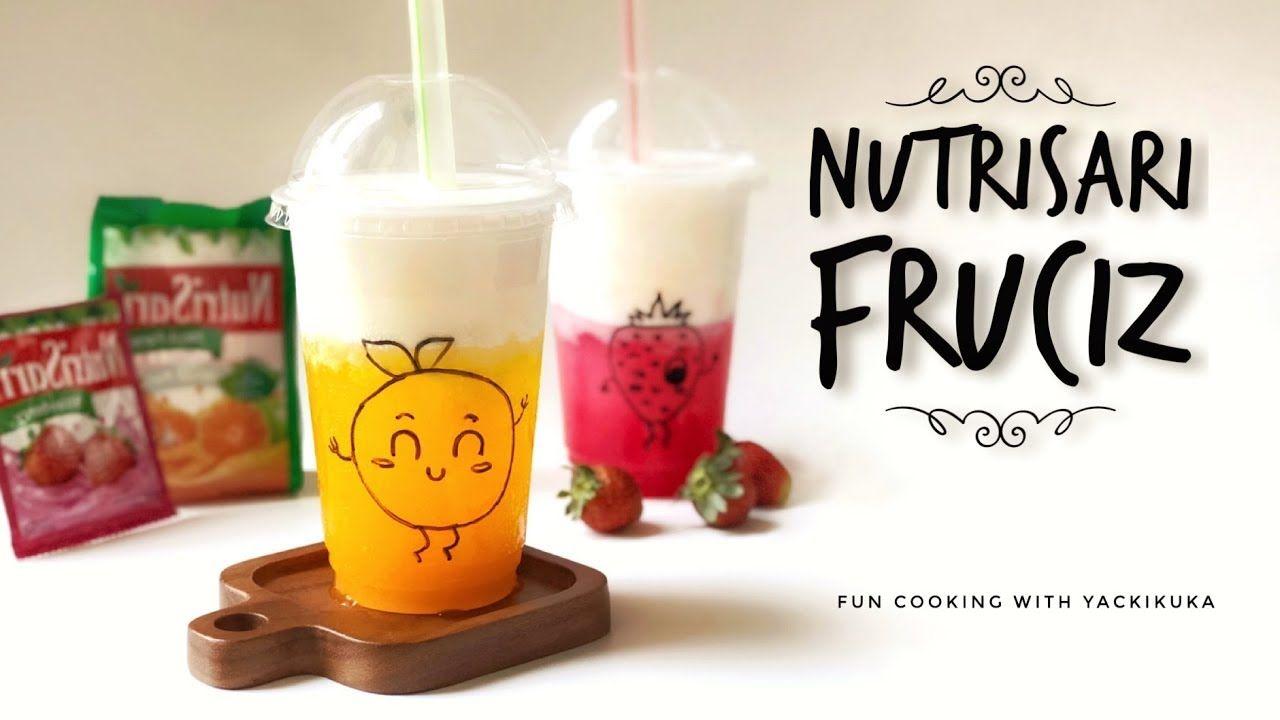 Minuman Kekinian Minuman Cream Cheese Nutrisari Fruciz Resep Kopi Minuman Resep Minuman