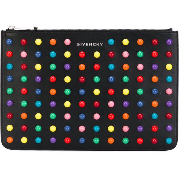 Givenchy dot bead pouch (4289600 PYG) ❤ liked on Polyvore ...