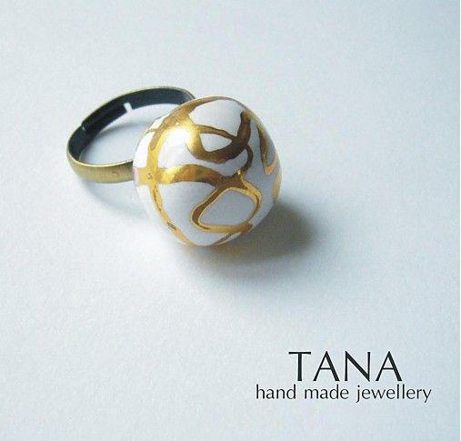 Tana / Tana sperky - keramika/zlato, anjelský
