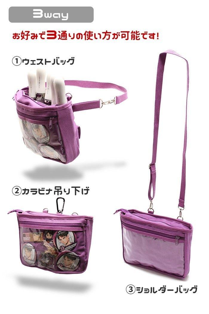 507fd92fed87 オリジナル!おでかけ 3way 痛バッグ ショルダー ライブバッグ 痛ライブ ...