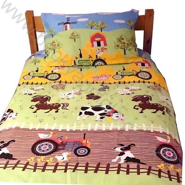 Farm Cot Bed Duvet Cover Sets