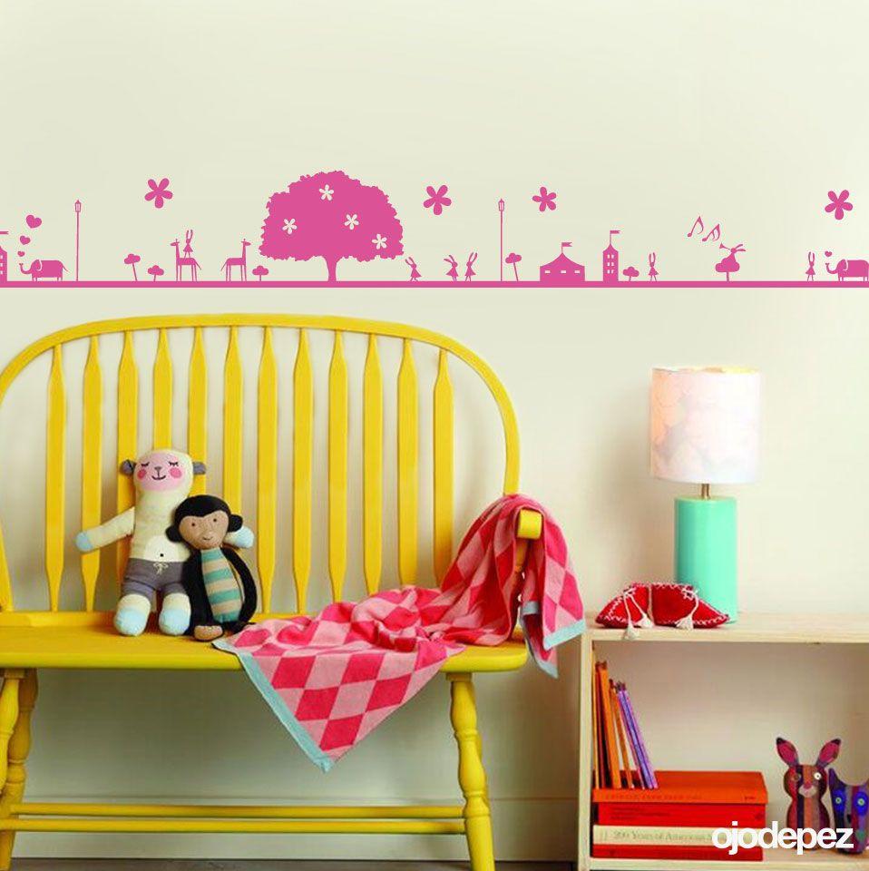 Vinilo decorativo Infantil 033: Guarda de circo. Vinilos decorativos ...