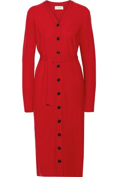 Lemaire - Wool Dress - Red - x small