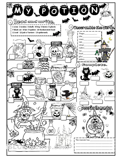 photograph about Free Printable Halloween Worksheets known as Zis Childrens Halloween Small children Game titles Things to do HubPages