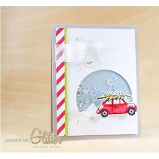 Happy day...happy news!! Our #EssentialsbyEllen Tis the Season stamps and dies are back in stock!! Get 'em before they're gone! #EllenHutsonLLC @carissawiley