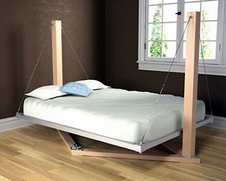 Hanging Swing Bed Funny Bizarre Amazing Pictures Videos Innovative Furniture Cool Bed Frames Bed Frame Design