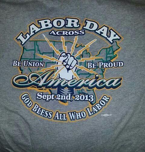 Labor Day tee