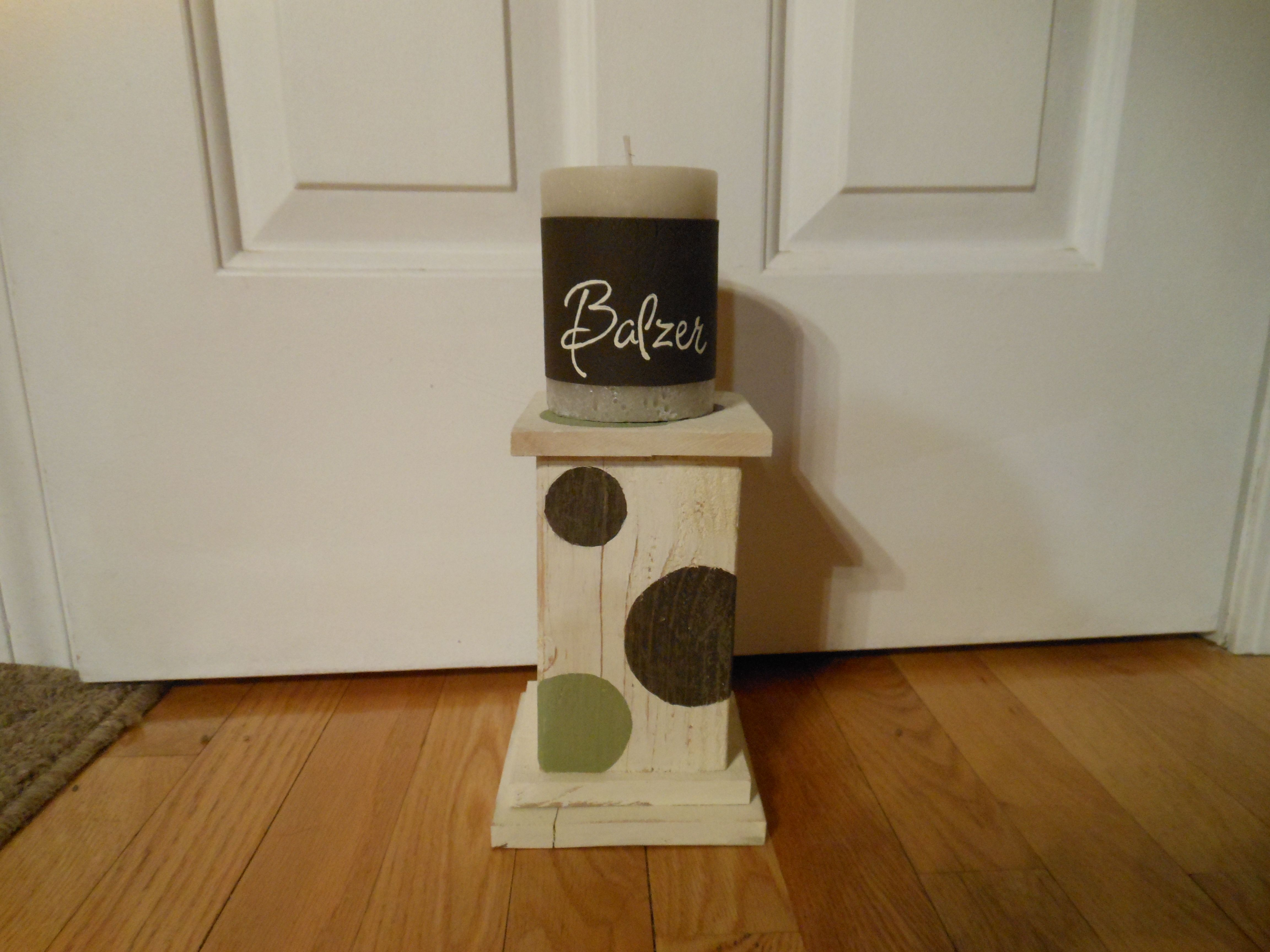 4x4 Wood Crafts 4x4 Candle Holder Projects I Have Tackled Pinterest Craft