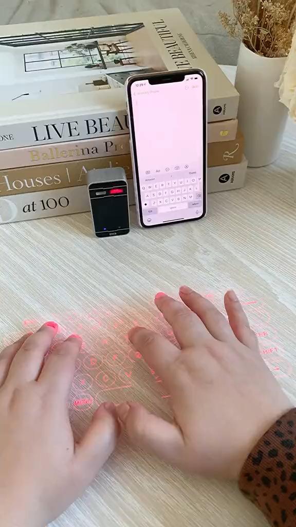 Keyboard Projector | Amazon Must Haves | Tiktok Vi