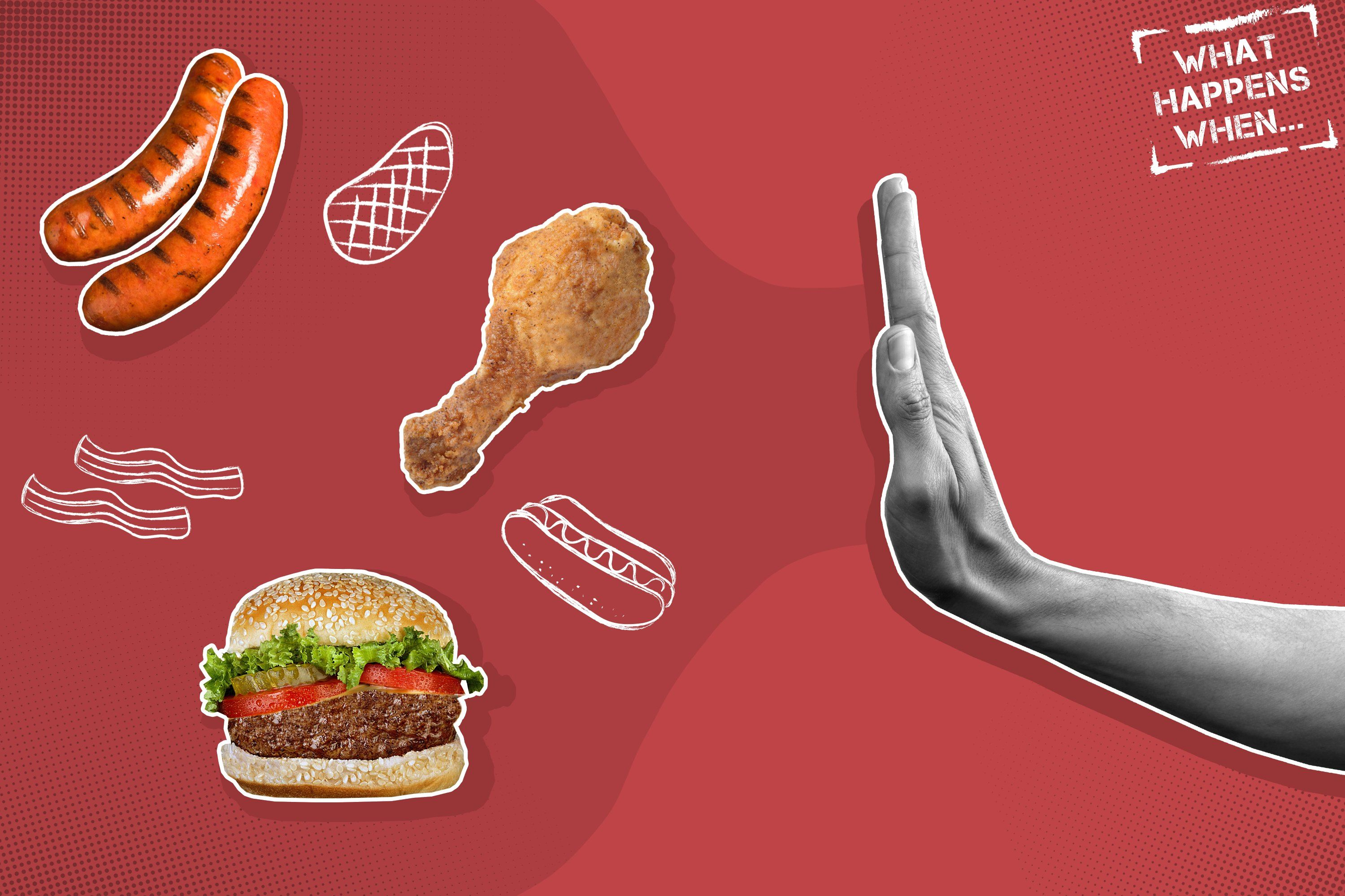 What Really Happens To Your Body When You Stop Eating Meat In 2020