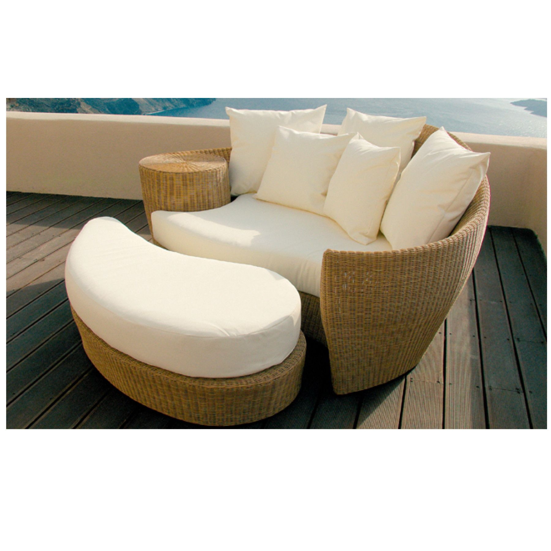 dune outdoor furniture. TRO08001 OHMM® Dune Outdoor Daybed Furniture