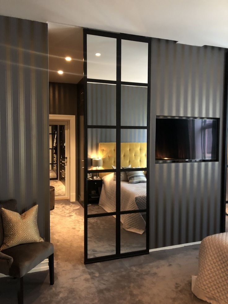 Sliding door with mirrors- Sliding door with mirrors   -#fre…