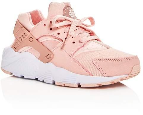 Nike Girls' Huarache Run Lace Up