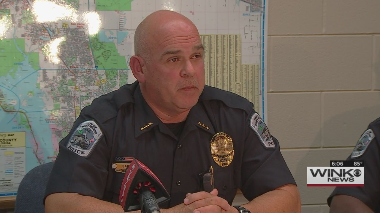 Fort Myers Fla Fort Myers New Top Cop Says The Police Department Is Moving On From Criticism And Low Morale That Has Plagued Police Chief Police New