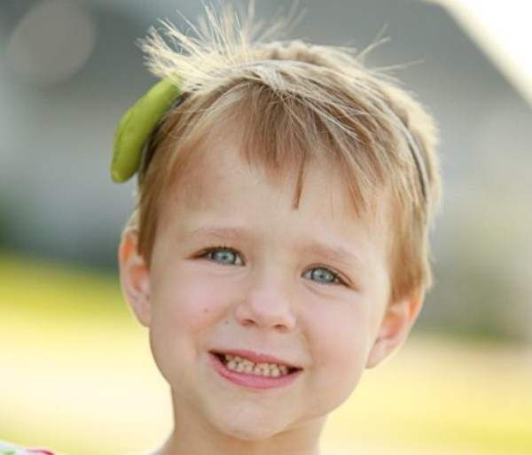 Short Hairstyles For Children Girls Women Hairstyles Ideas - Hairstyle for short hair little girl