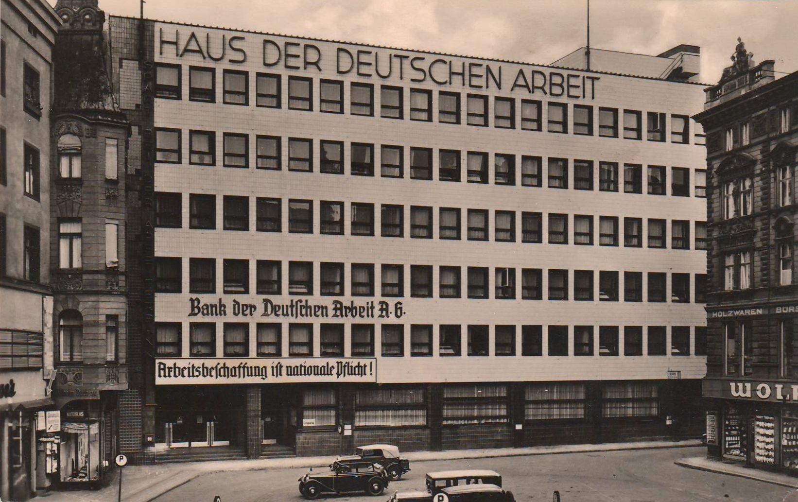 haus der deutschen arbeit magdeburg house of german labor magdeburg 1930 german. Black Bedroom Furniture Sets. Home Design Ideas