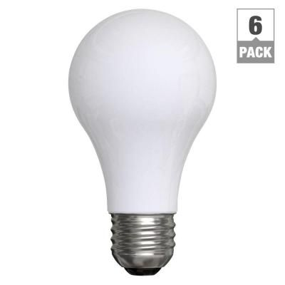 Ge 60 Watt Incandescent A19 Double Life Soft White Light Bulb 6 Pack 60a W 2l 6pk At The Home Depot Energy Efficient Light Bulbs Light Bulb 3 Way Light Bulb