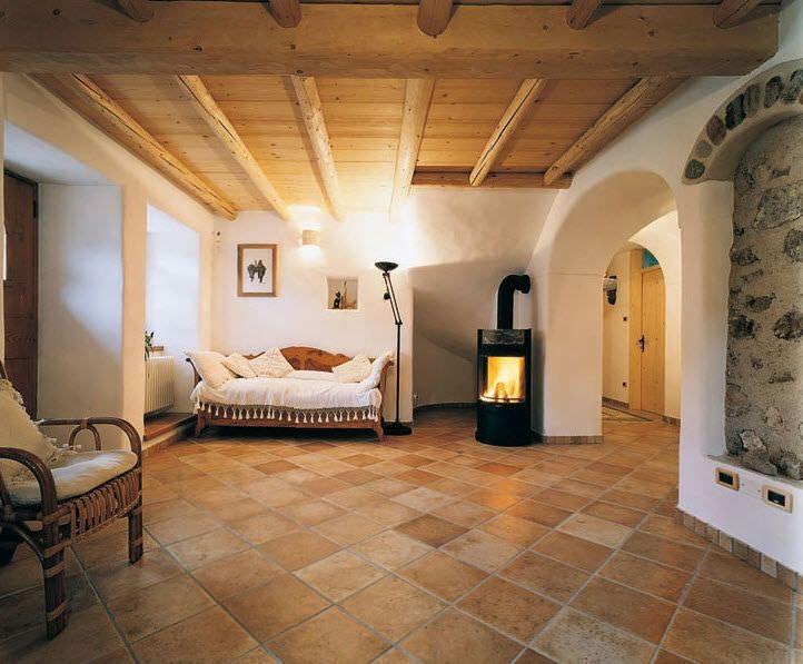 Pavimenti Rustici Interni : Risultati immagini per pavimento in cotto per interni casa ideale