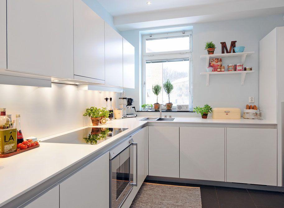 Decoração: 40 cozinhas brancas em vários estilos - Cores da Casa ...