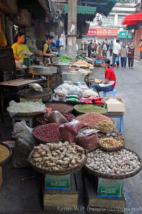 Asia China Chongqing Local Street Market In The City Of Chongqing Chongqing Street Food Market Chongqing China
