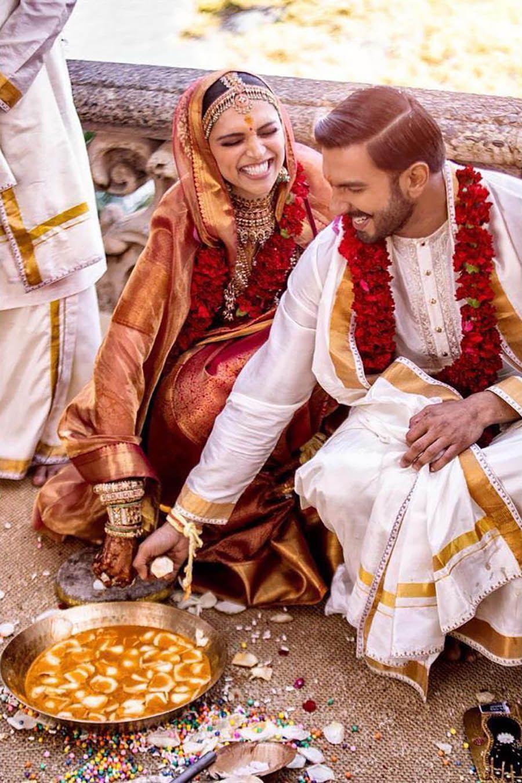 Deepika Padukone And Ranveer Singh S Fabulous Wedding Celebrations Bollywood Wedding Deepika Ranveer Deepika Padukone