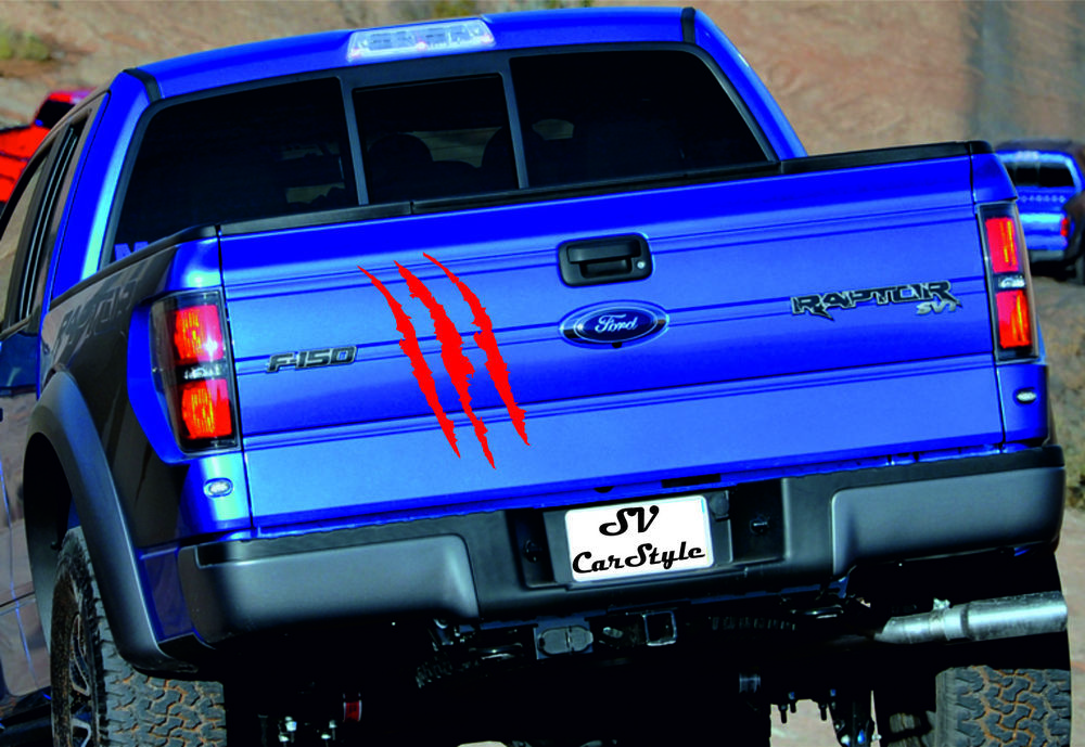 Ford Raptor 1x Decal Graphics Vinyl Back Decal Stickers Logo Premium Quality Ebay Motors Parts Accessories Car Truck Parts Ebay With Images