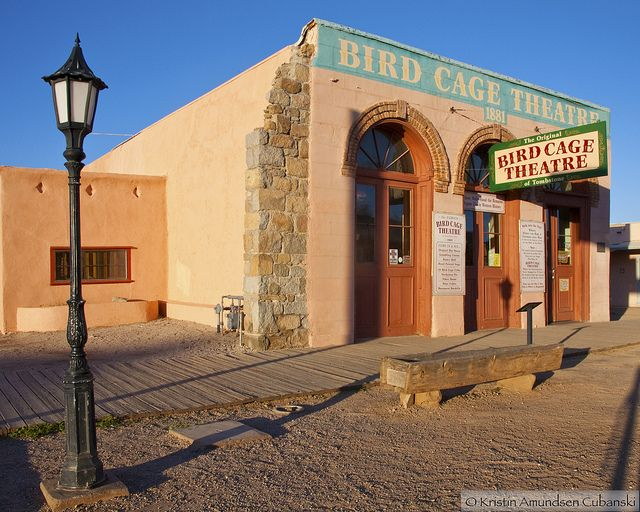 Tombstone Az So Much History Behind This Theater And We Believe To Haunted Hotelhaunted